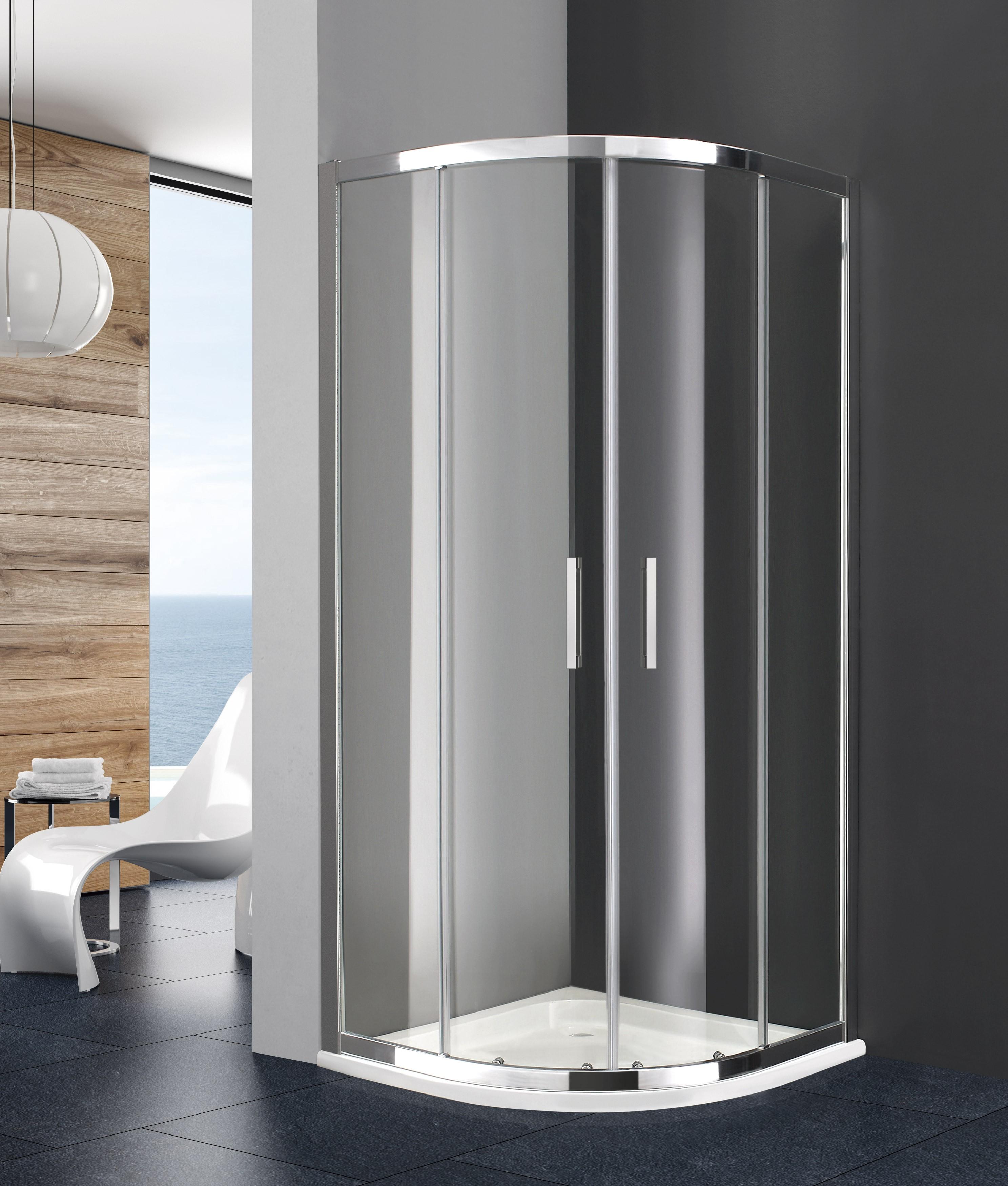 Box doccia semicircolare PRESTIGE-TITAN ottima qualità e design ...
